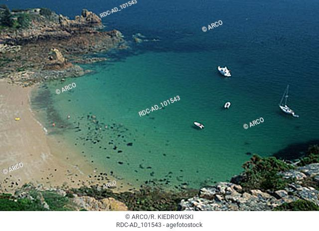 Beauport Bay Jersey Channel Islands Great Britain
