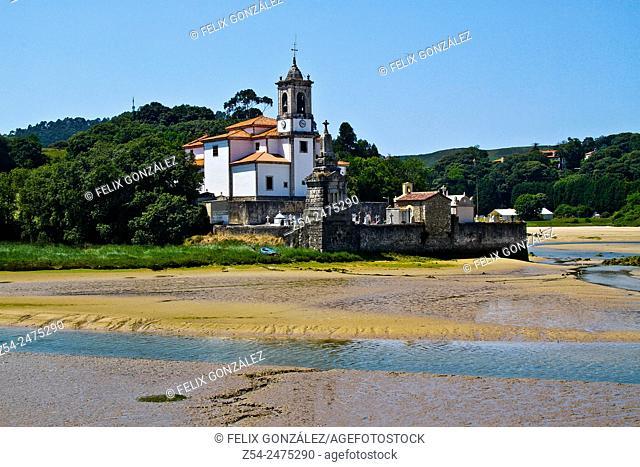 Church of Nuestra Señora de los Dolores, Niembro, Asturias, Spain