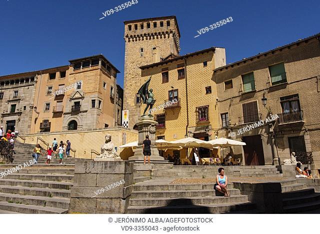 Medina del Campo square. Segovia city. Castilla León, Spain Europe