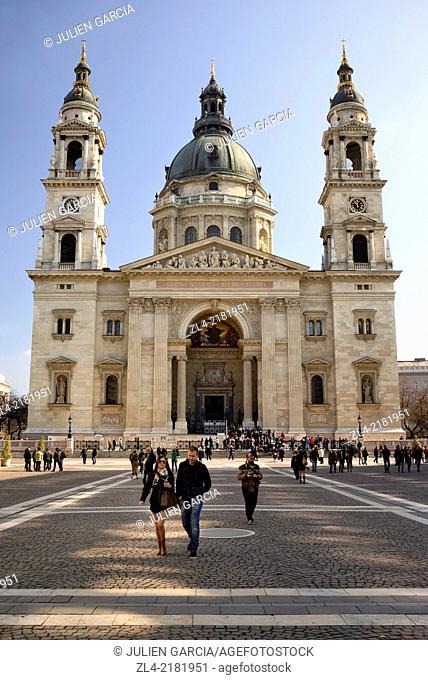 Basilica of St Stephen. Hungary, Budapest, Pest, Belvaros