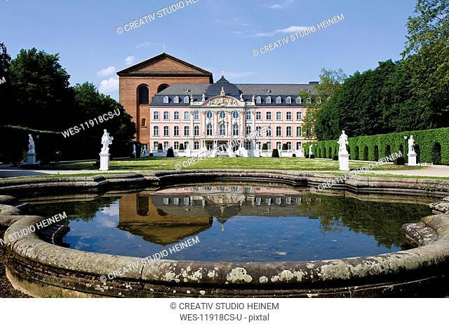 Germany, Rhineland-Palatinate, Treves, Electoral Palace