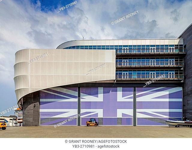 Sir Ben Ainslie's Racing Headquarters, Camber Quay, Portsmouth, Hampshire, UK