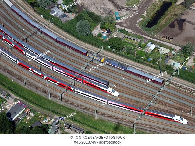 Italian made train V250 in Holland