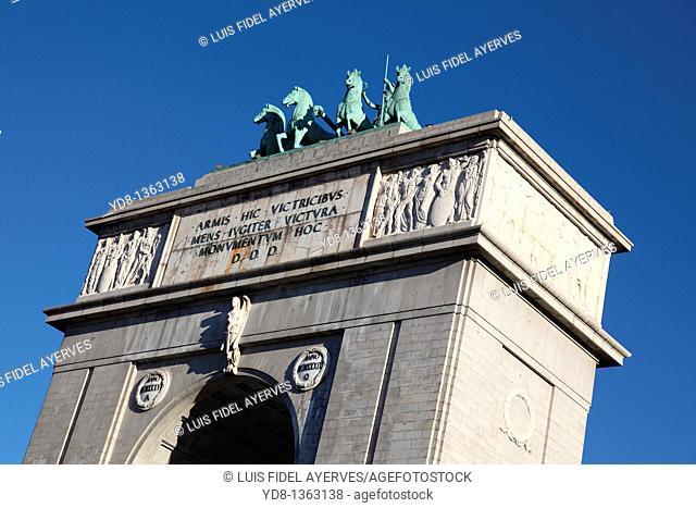 Monument, Mocloa, Madrid, Spain