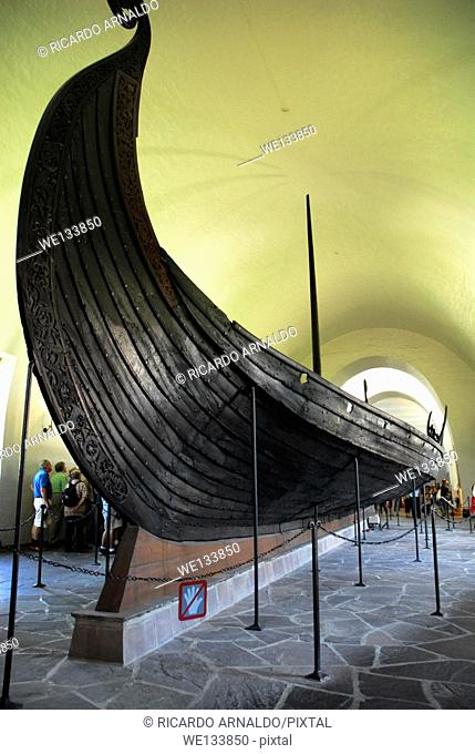 Viking Boat, Oslo, Norway