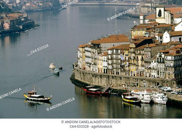 Duero river. Porto. Portugal