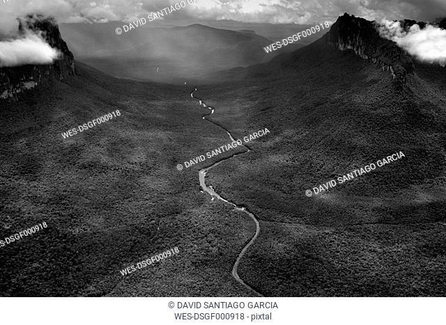 Venezuela, Bolivar, Canaima National Park, Canaima, Rio Carrao
