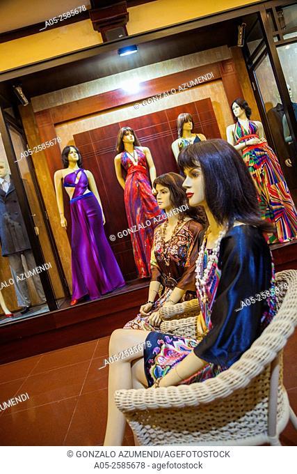 Clothes Shop. Hoi An. Centre of Vietnam. Asia