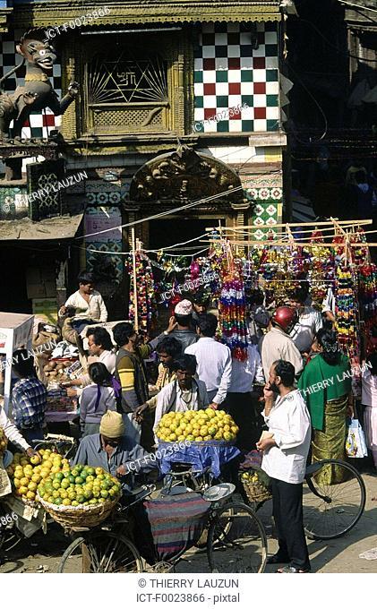 Nepal, Kathmandu, Tihar Festival