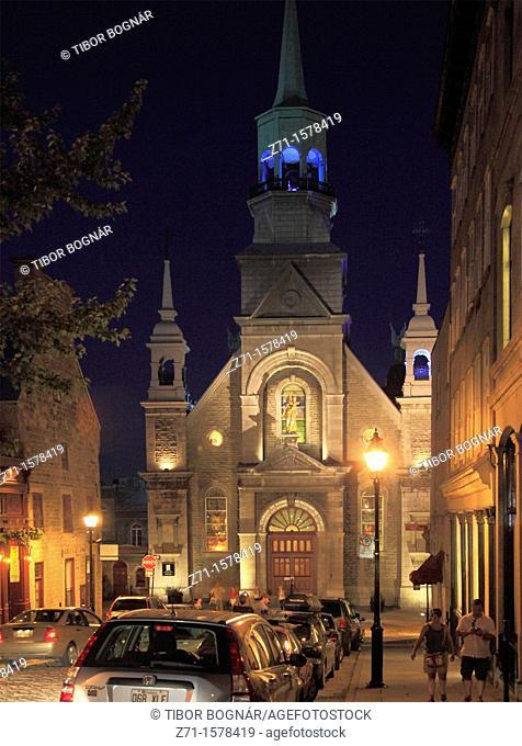 Canada, Quebec, Montreal, Notre Dame de Bon Secours Chapel