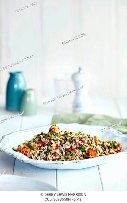 Super-grain salad dish