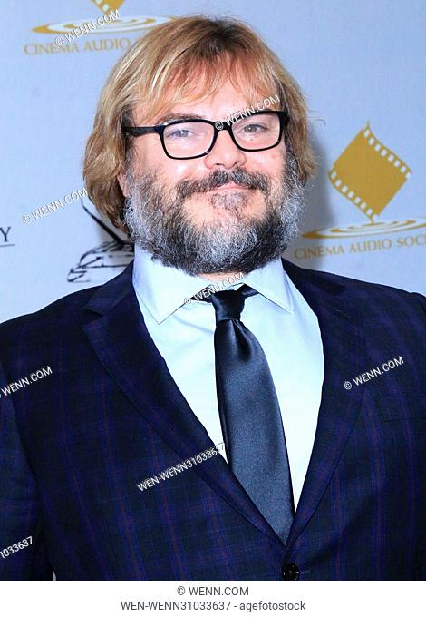 53rd Annual Cinema Audio Society (CAS) Awards at Omni Los Angeles Hotel at California Plaza - Arrivals Featuring: Jack Black Where: Los Angeles, California