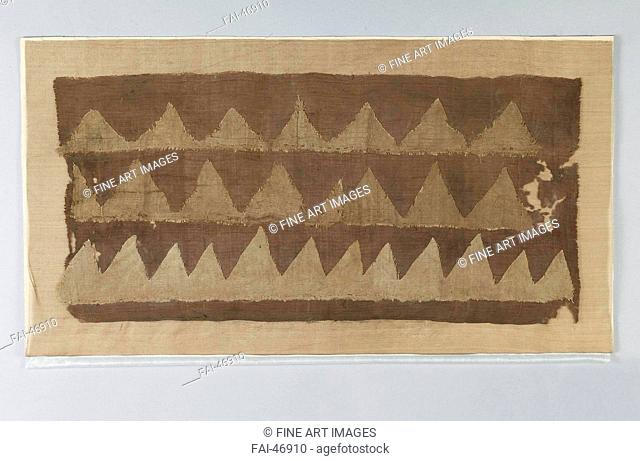 Fragment of a Burial Flag by Central Asian Art /Silk/The Oriental Arts/205 BC/China, Western Han Dynasty/State Hermitage, St