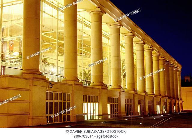 Teatre Nacional de Catalunya (TNC), by Ricard Bofill. Barcelona. Spain