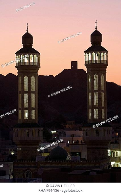 City Mosque in Old Muscat area of Mutrah, Muscat, Oman, Middle East