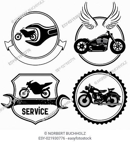 Motorrad Schilder