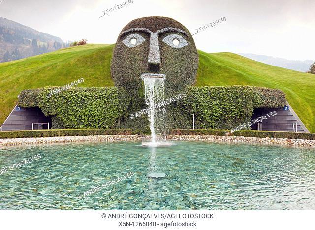 Entrance of Swarovski Museum in Innsbruck, Austria