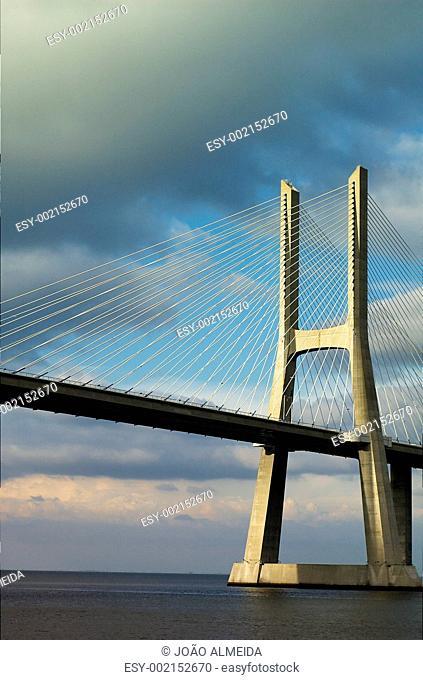 Vasco da Gama bridge tower