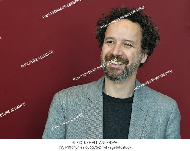 03 April 2019, Berlin: The artistic director of the Berlinale, Carlo Chatrian, will take part in a press event to introduce the new Berlinale duo