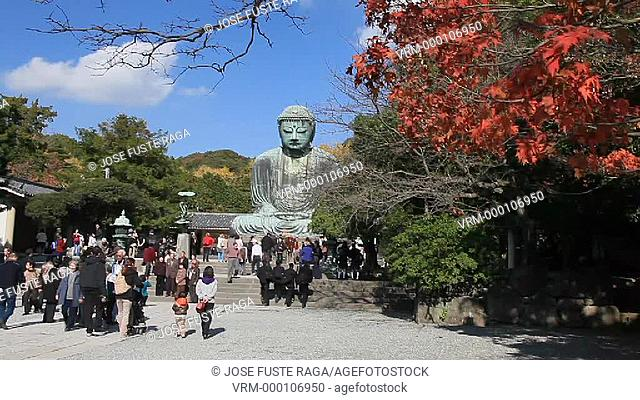 Japan, Kamakura City, The Great Budha Dai Butsu