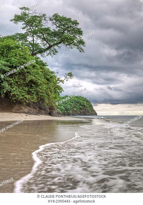 Coastline, Guanacaste,Costa-Rica