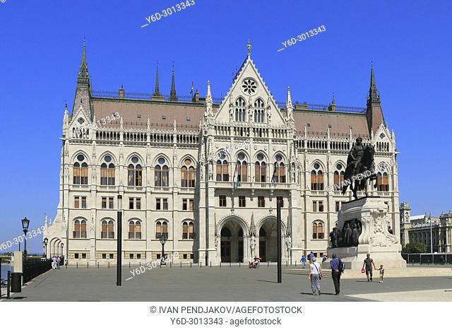 The Parliament Building, Budapest, Hungary