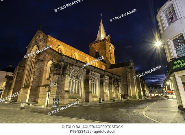 St. John's Kirk ( Iglesia de San Juan Bautista), siglo XII, Perth, condado de Perth and Kinross, Highlands, Escocia, Reino Unido