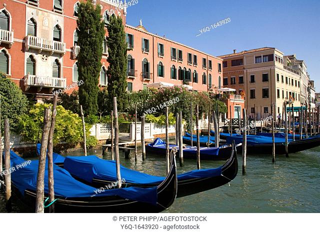 Apartment buildings on the Grand Canal in Venice