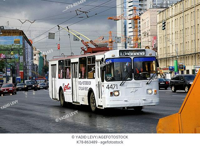 Sep 2008 - Trolley Bus, Moscow, Russia