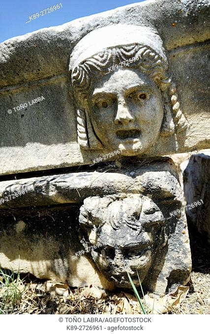 Figurehead Friezes. Aphrodisias. Ancient Greece. Asia Minor. Turkey