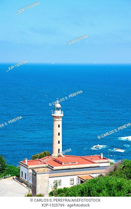 Lighthouse in Punta Carnero, Alfgeciras, Spain