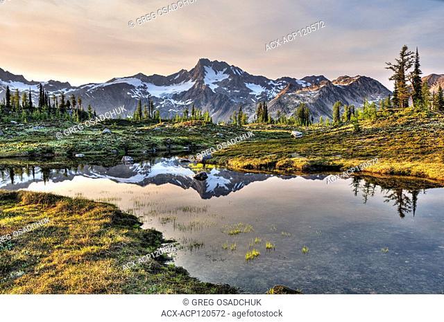 Sunset, Taurus Mountain, Edouard Pass