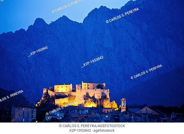 Castle of Corte, Corsica, France