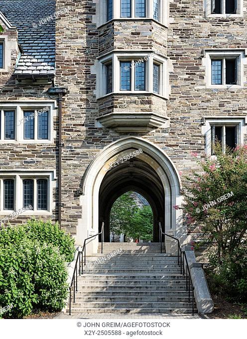 Hamilton Hall, Princeton University Campus, Princeton, New Jersey, USA