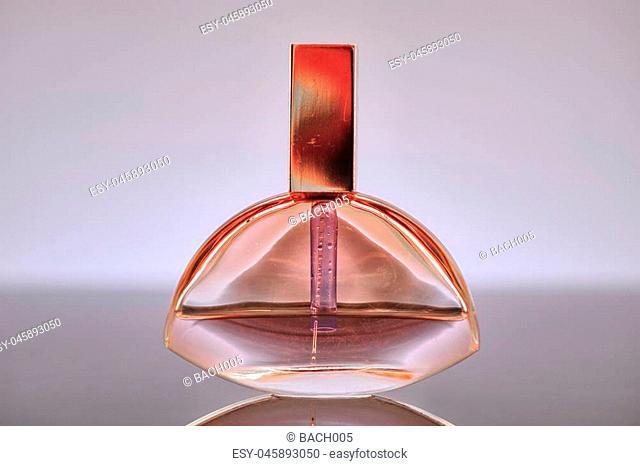 A studio photo of ladies perfume