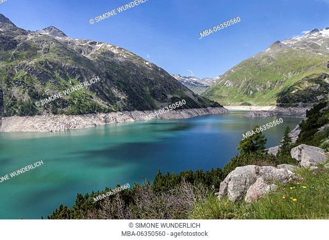 Kölnbrein reservoir, Carinthia, Austria
