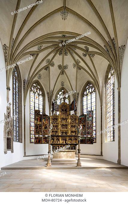 Schwerte, Kirche St. Viktor, Chorraum mit Hochaltar