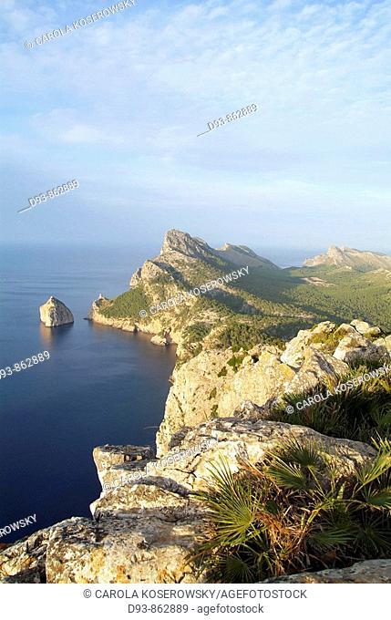 E, Spain, Europe, Balearic islands, Mallorca, Cape Formentor, Cabo Formentor