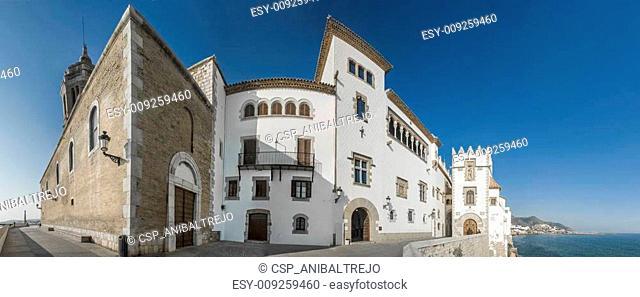 Maricel Palace at Sitges, Spain