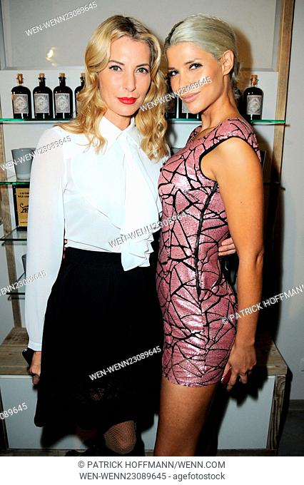 Flaconi Neo Salon Opening at Leipziger Strasse in Mitte. Featuring: Giulia Siegel, Micaela Schaefer Where: Berlin, Germany When: 29 Oct 2015 Credit: Patrick...