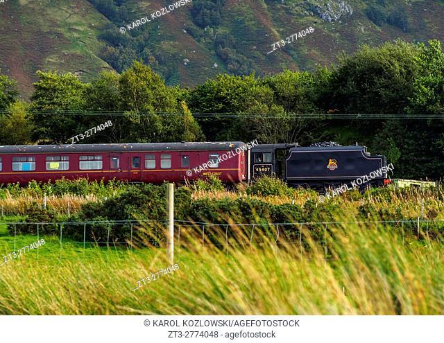 UK, Scotland, Fort William, The Jacobite Steam Locomotive