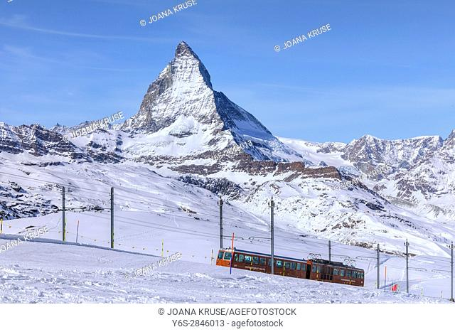 Matterhorn, Zermatt, Gornergrat, Valais, Switzerland, Europe