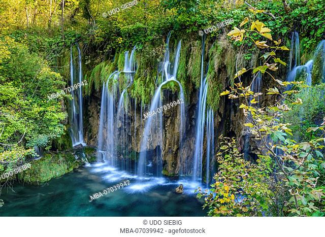 Croatia, Central Croatia, Plitvicka Jezera, Plitvice Lakes National Park, Upper Lakes
