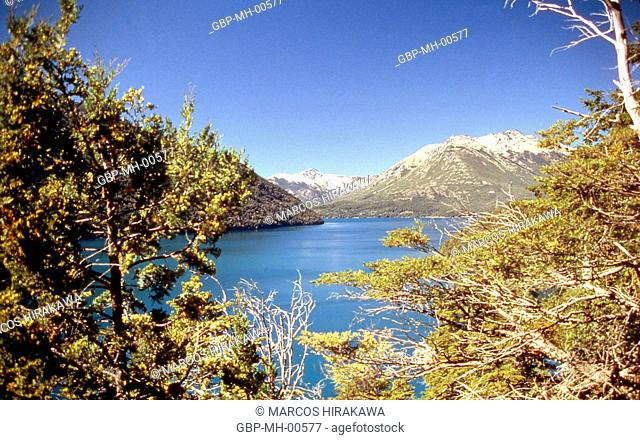 Pq National Nahuel Huapi Lake Mascardi, Viewpoint, Argentina