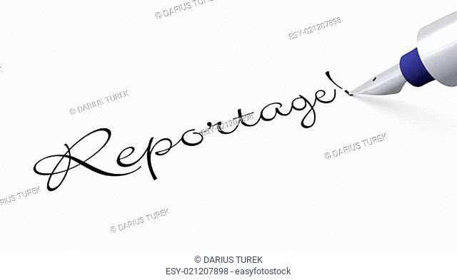 Stift Konzept - Reportage!