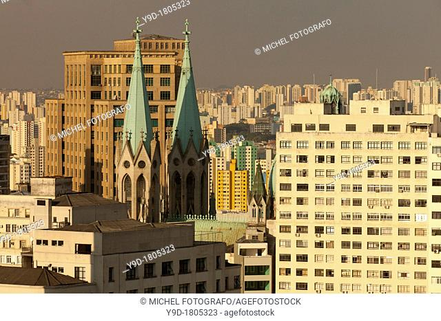 Spires of the Cathedral, São Paulo, Brazil