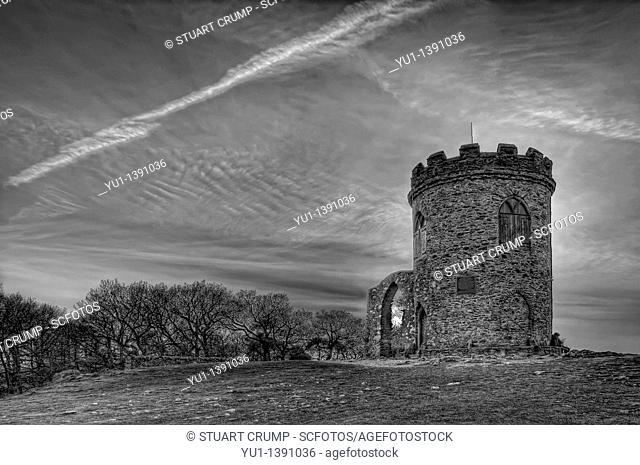 HDR image of Old John's Tower, Bradgate Park, Newtown Linford, Leicestershire, UK