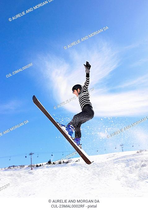 Winter sports holiday