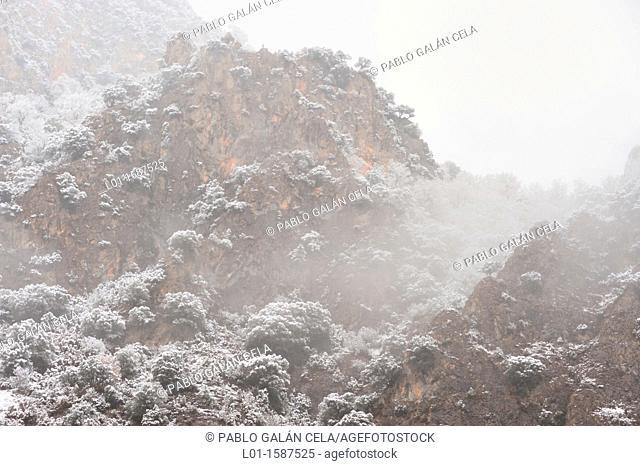 Invierno en el valle de Benasque Huesca