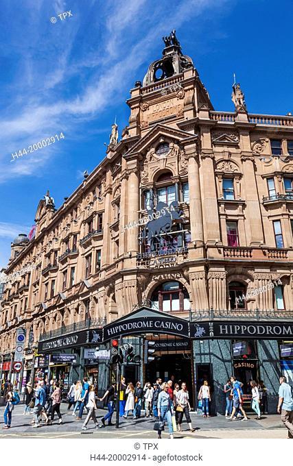 England, London, Leicester Square, Hippodrome Casino